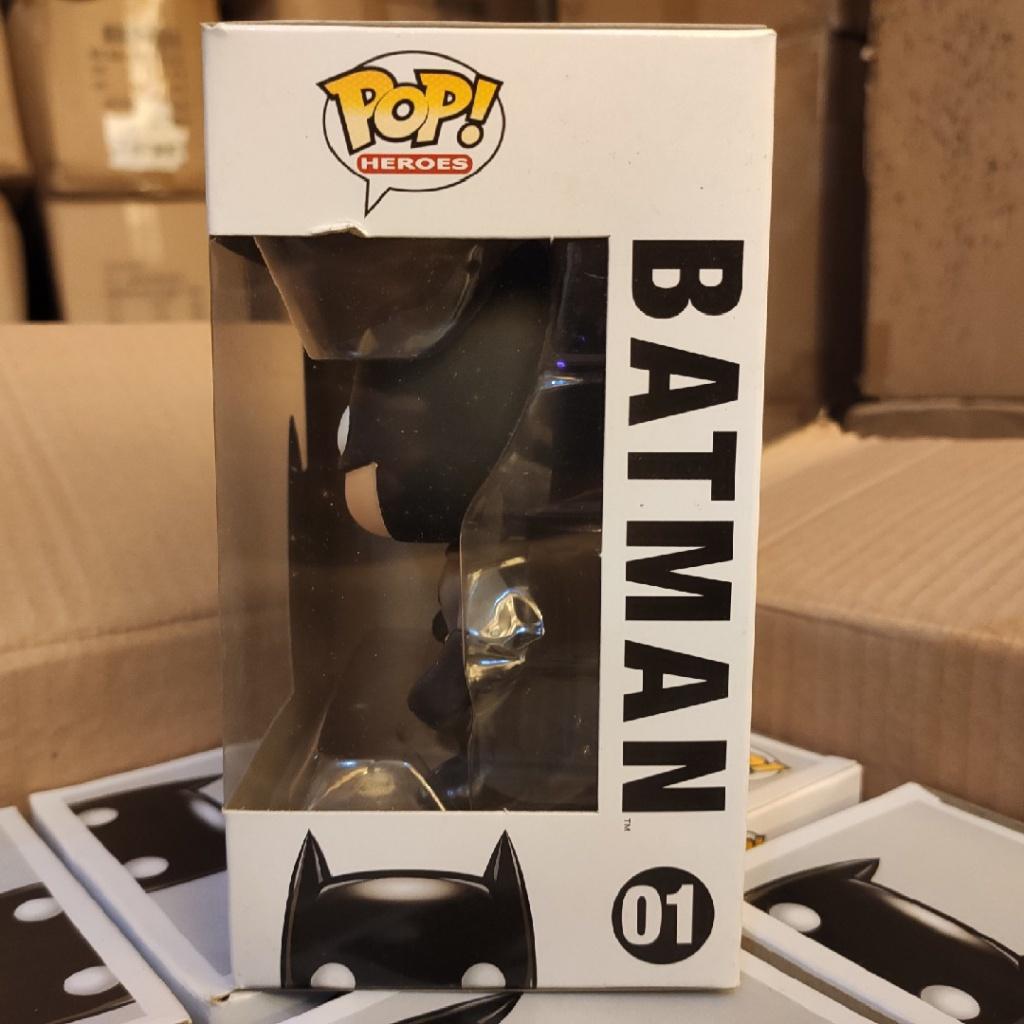 DC蝙蝠俠正版 funko pop 01 蝙蝠俠batman DC系列 手辦模型擺件