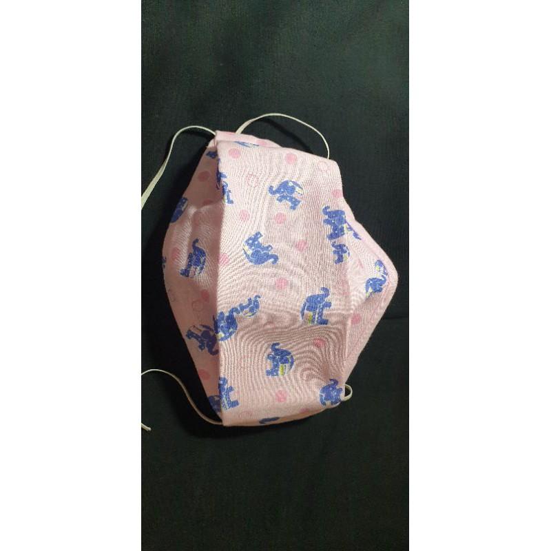 布口罩(舟型)(二面都二重紗)