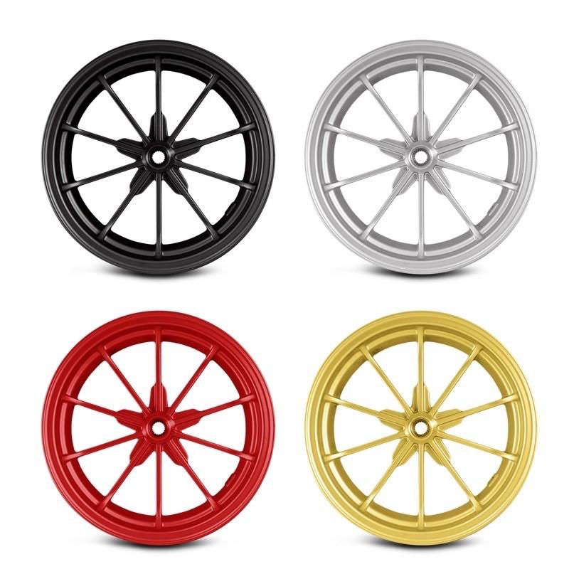 RPM 10吋 12吋 十爪 碟煞 鼓煞 前輪 後輪 輪框 輪圈 鋼圈 勁戰 雷霆 BWS125 超5 G5 Many