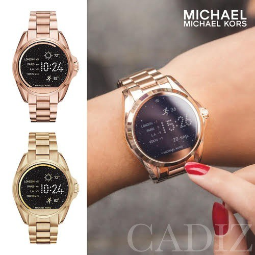 美國正品 Michael Kors 玫瑰金智慧男女錶ACCESS Smartwatch MKT5001 MKT5004