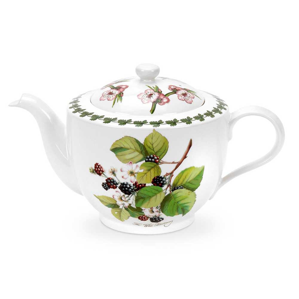 【Portmeirion】 Pomona波摩納 水果系列-1.1L咖啡/花茶壺1入