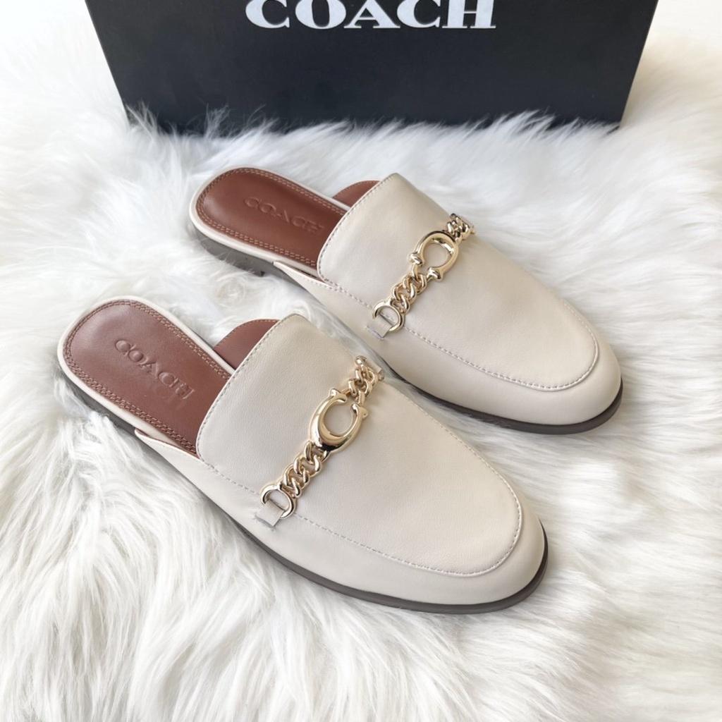 最新款COACH/蔻馳馬銜扣拖鞋