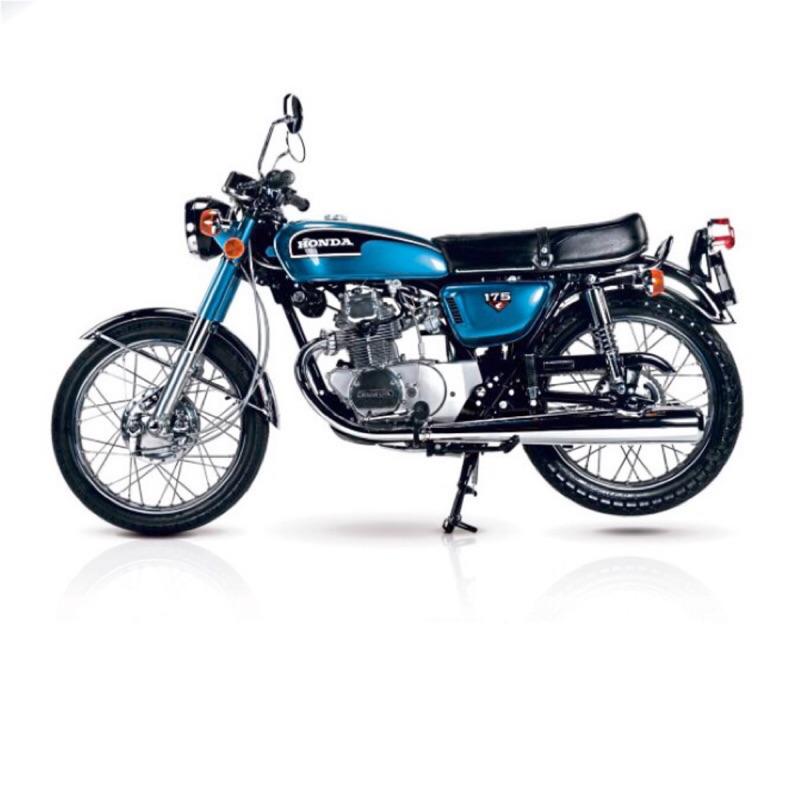 Honda 本田 cb175 排氣管 老車 古董車 全新老品