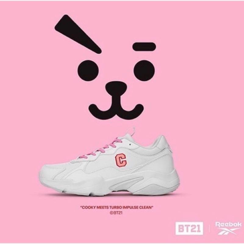 韓國限定Reebok x BTS聯名款 BT21 老爹鞋