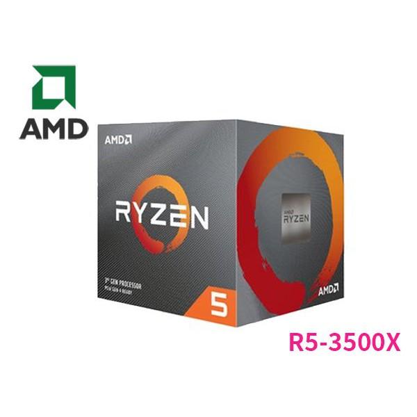 AMD R5 3500X (Ryzen 5 3500X) 處理器 盒裝保固內