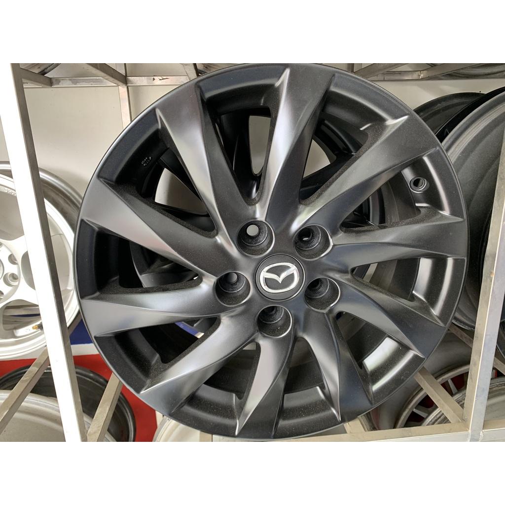 MAZDA 17吋 5孔114 原廠鋁圈 消光黑 中古出清 可搭輪胎享優惠價 MAZDA3 MAZDA6
