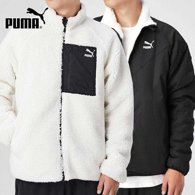 Ns PUMA彪馬夾克男裝2020秋冬季新款運動服保暖雙兩面穿外套530028-