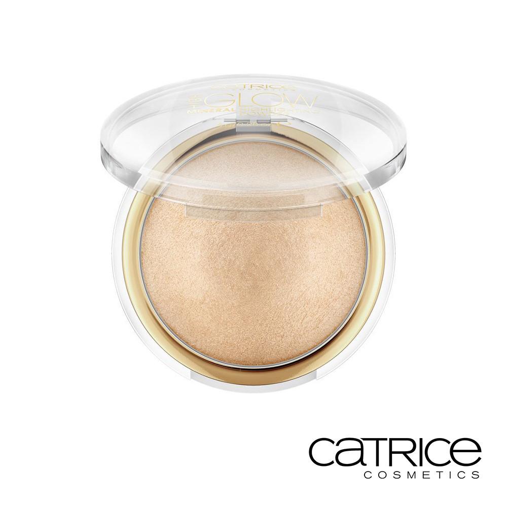 Catrice 卡翠絲 礦物光綻打亮餅030 膚金色 8g 熱銷 光澤閃耀亮眼 礦物 毛孔修 粉質輕盈 高光