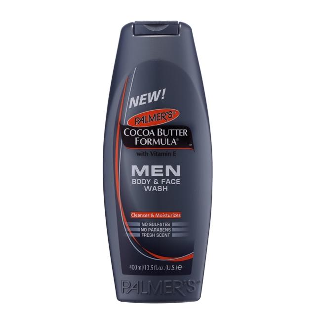 帕瑪氏全效男仕肌能潔面沐浴乳400ml 潔顏沐浴 一瓶搞定男性魅力