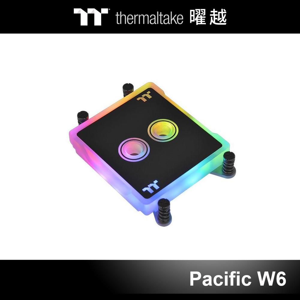 曜越 Pacific W6 CPU 水冷頭 RGB (AMD TR4) CL-W225-CU00SW-A
