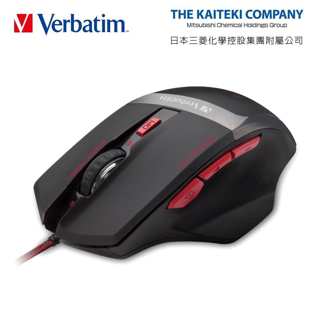 Verbatim VM2 征獵電競四段切換七鍵式光學滑鼠