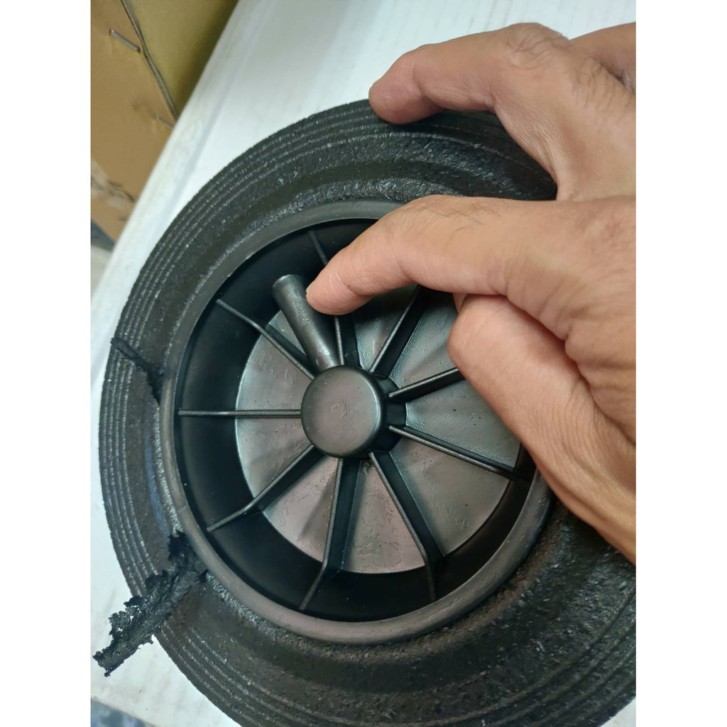 120公升240公升360公升可推式垃圾桶輪胎/輪子/零件