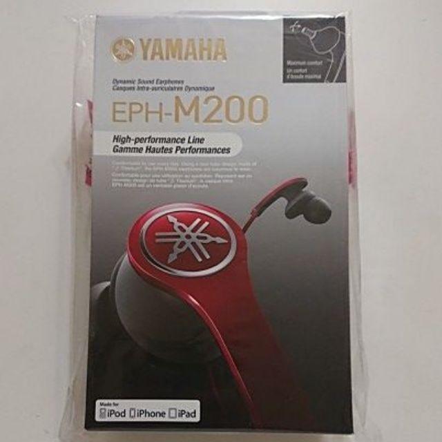 [全新未拆] YAMAHA EPH-M200 薄鈦音管耳機