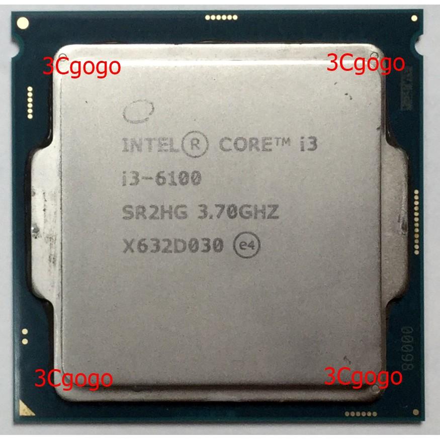 【優質二手良品】Intel 英特爾 i3-6100 i5-6400 1151腳位 CPU 無風扇 正式版