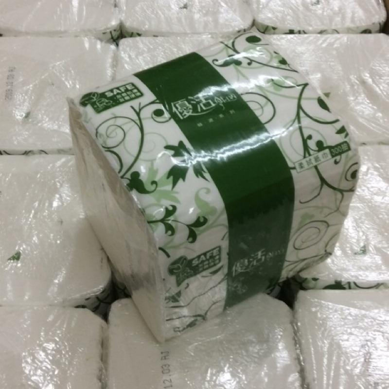 現貨 LiVi 優活揉拭紙巾(單包)、抽取式衛生紙300抽