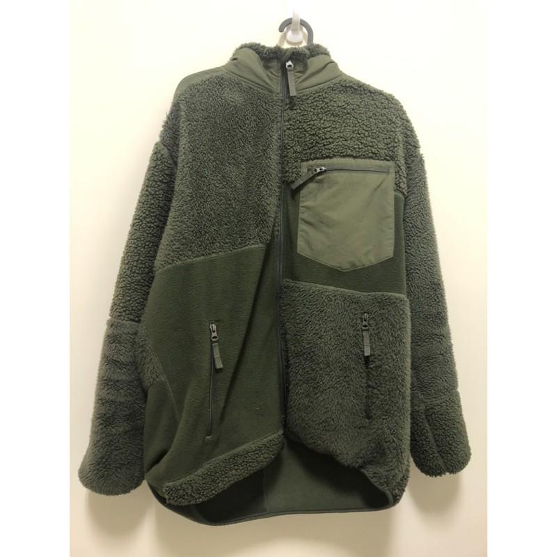 Engineered Garments x Uniqlo仿羊羔毛拼接限定外套