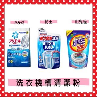 【二陳二呆】日本 P&G ARIEL 活性酵素 洗衣槽 除臭清潔劑250g 山鬼怪  強力分解污漬 洗滌衣物