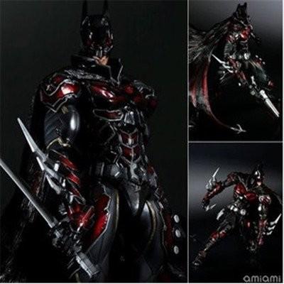 [APPS STORE]精緻版Play Arts 改 DC COMICS BATMAN 重裝盔甲 盒装港版 公仔 模型