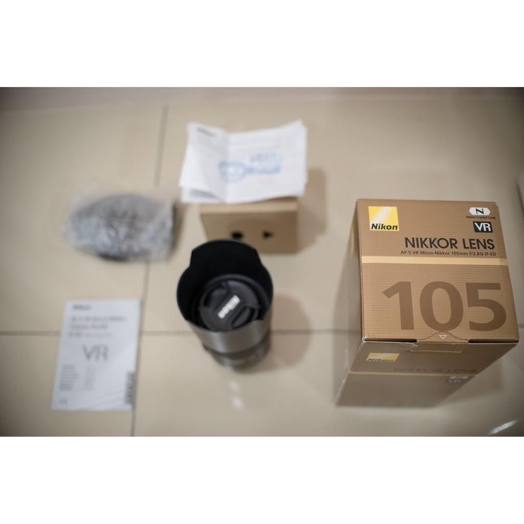 Nikon AF-S VR 105mm f2.8 105mm 2.8 MIRCO 榮泰公司貨 附保卡
