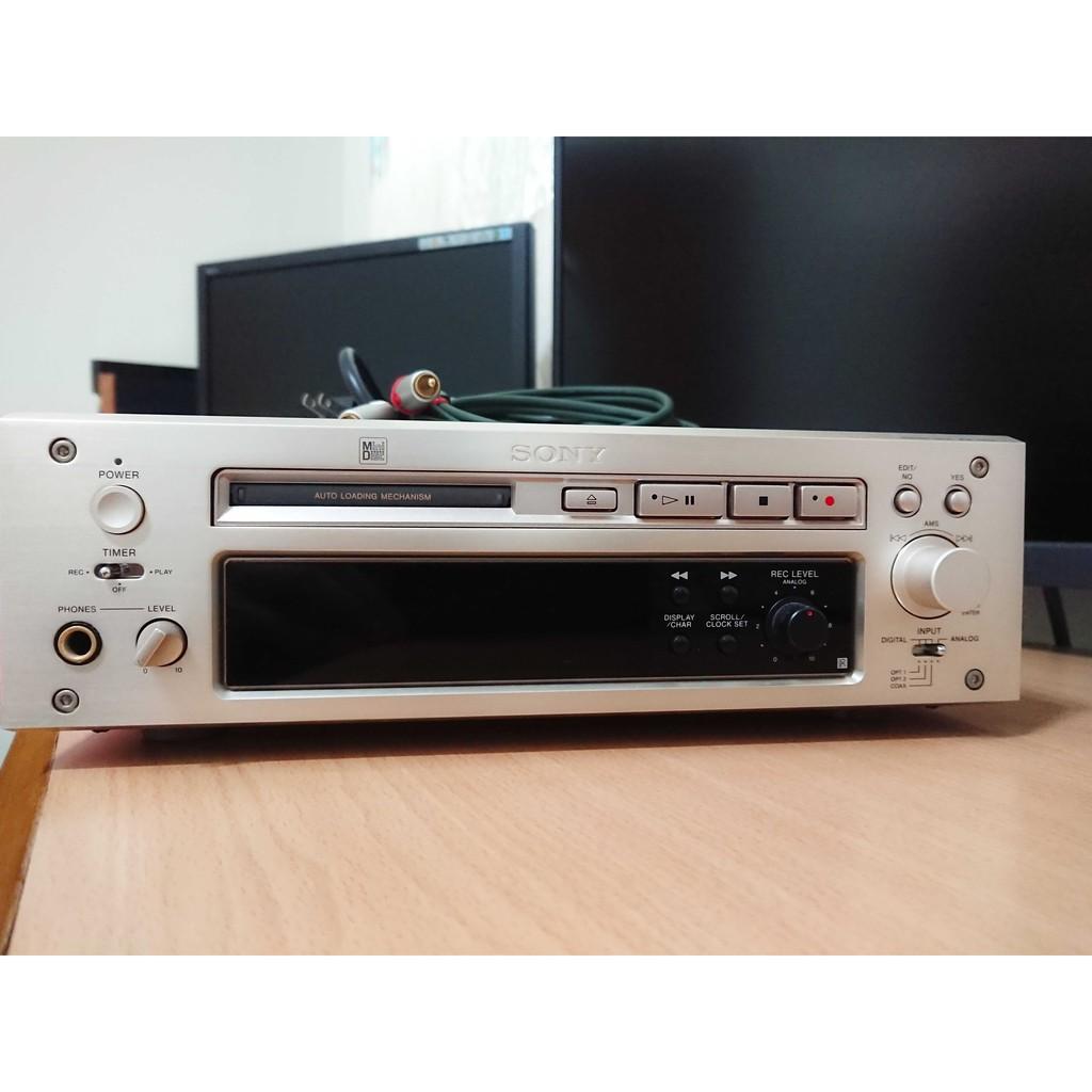 日本製 SONY 高級MD音響主機 MDS-J3000