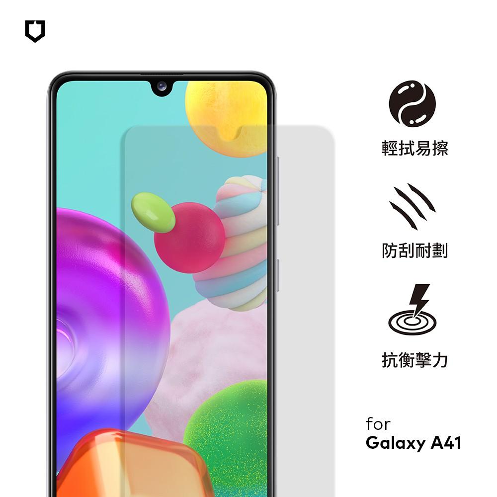犀牛盾 適用Samsung Galaxy A41 / A51(4G) / A71(4G) 非滿版耐衝擊保護貼-正面