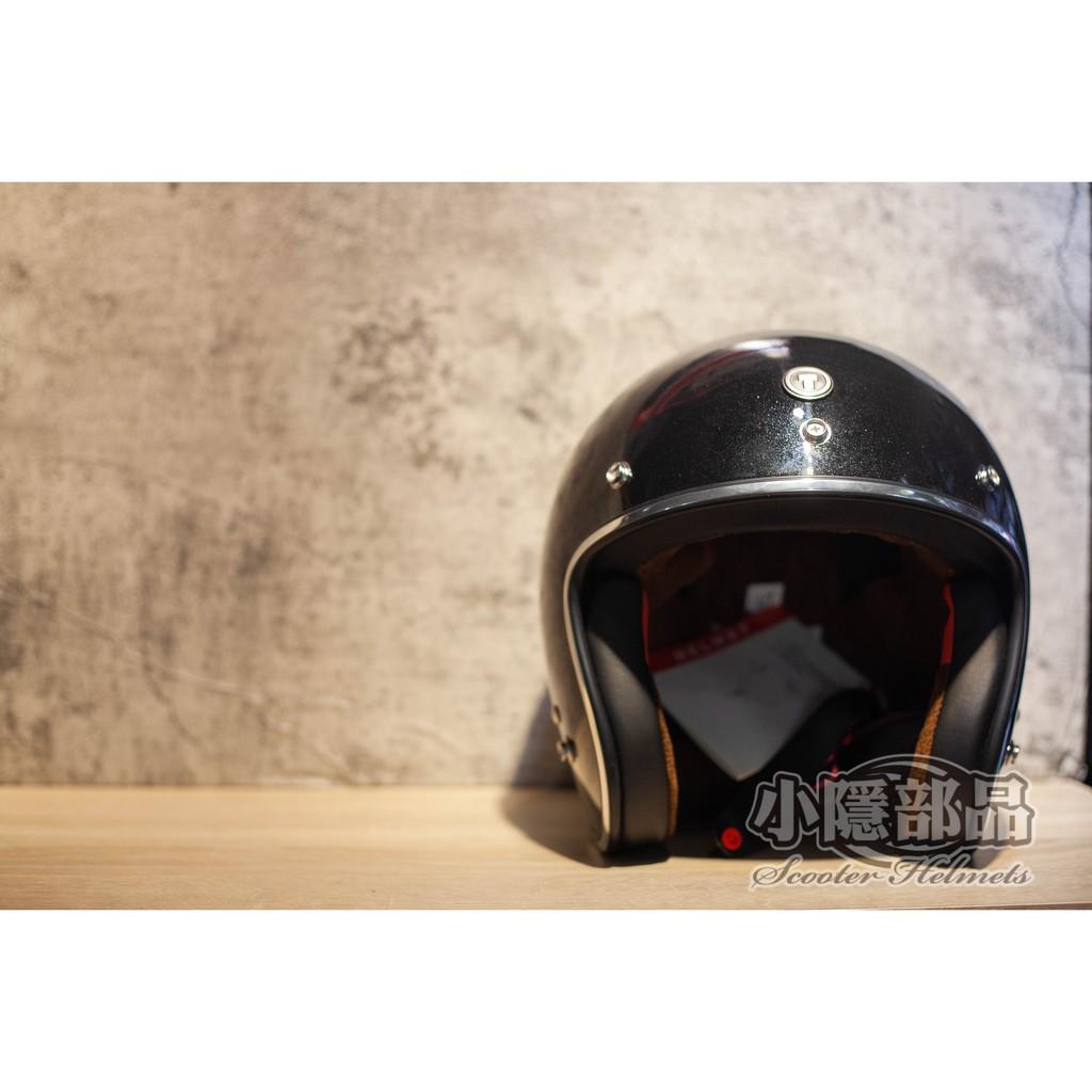 【S.Y部品】出清特價 TORC T50-亮黑 復古帽 三扣式安全帽 加大耳窩 兩頰可拆 麂皮內襯