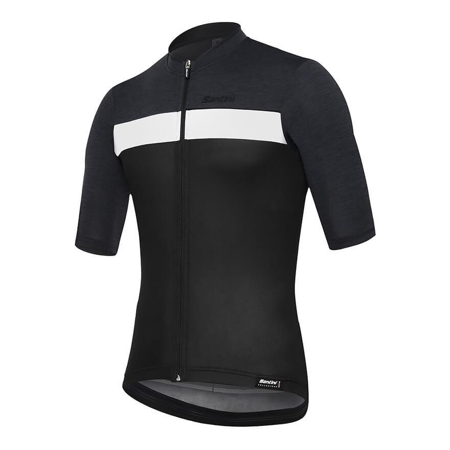2019 Santini STILE「風格」短袖車衣-黑