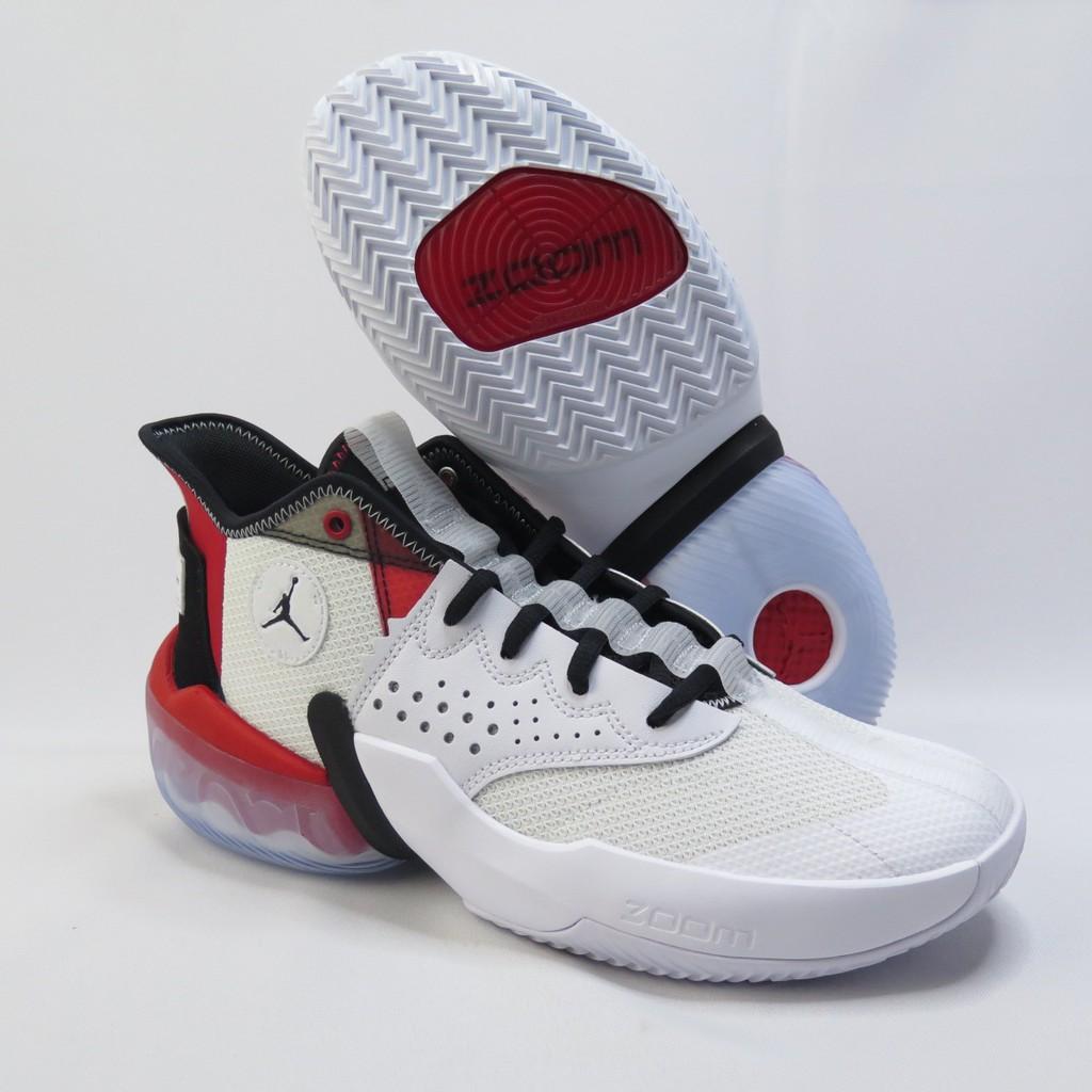 NIKE JORDAN REACT ELEVATION PF 男款 籃球鞋 CK6617100 白紅【iSport】