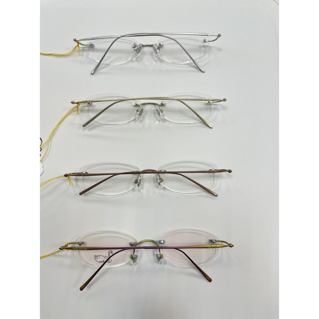 【台南中國眼鏡】Dr.Swan 天鵝 鏡框 鏡架 無框 經典 簡潔 鈦 titanium ip