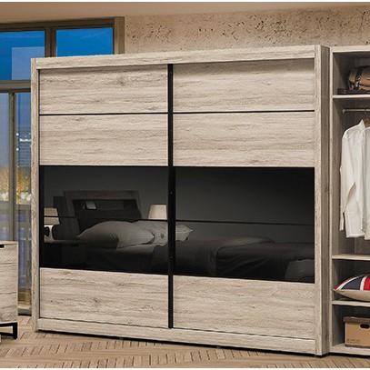 板橋區家具,T532-3 倫恩5尺推門衣櫥,大台北都會區免運費