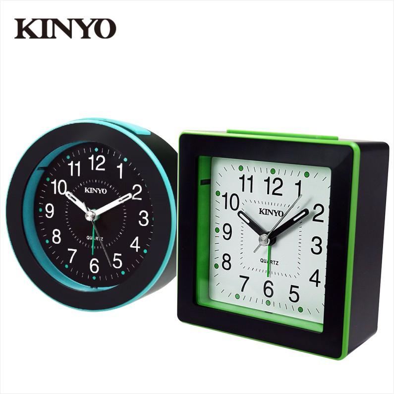 KINYO 時尚鬧鐘 圓形/方形【佳瑪】
