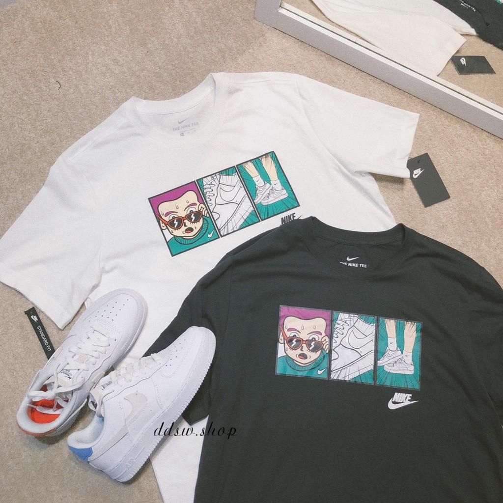 dd▸現貨 Nike NSW 三格漫畫 短Tee 黑 CT6528-010 白 CT6528-100