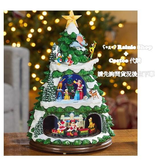 [好市多代購/請先詢問貨況] 好市多宅配免運_17.5 吋迪士尼角色人物音樂火車聖誕樹