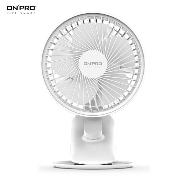 ONPRO UF-IFAN Plus 無線小夜燈涼風扇 /USB充電式夾式隨行小風扇.推車電扇.桌扇 .無線隨身攜帶式電