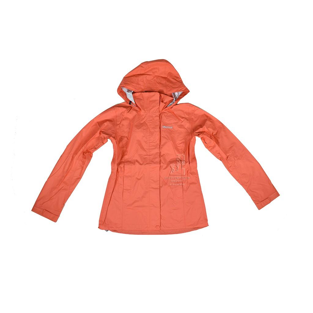 MarmotW PreCip 女款 輕薄防風防水透氣外套46200-6847-Living Coral  J190
