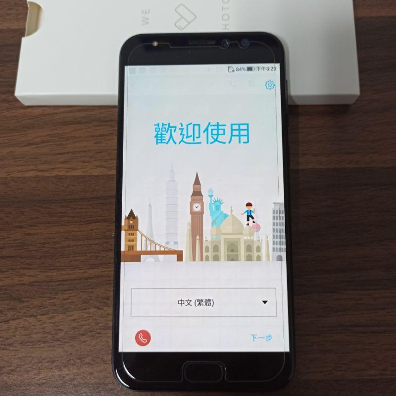 ✨現貨 二手空機 Asus ZenFone4 selfie Pro 64G Z01MDA ZD552KL 深藍色5.5吋