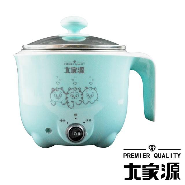 大家源 1L / 1公升 304不鏽鋼蒸煮兩用美食鍋 TCY-2727B