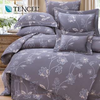 60支100%純天絲TENCEL【雙人 加大 特大組合】規格可選  兩用被床包四件組 七件式鋪棉床罩組 卡柏蒂 台中市