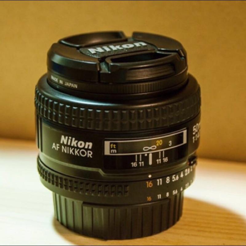 Nikon AF Nikkor 50mm F1.4D