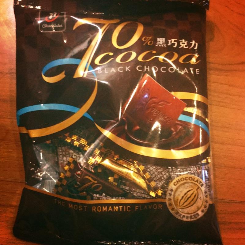 77 70%黑巧克力220公克