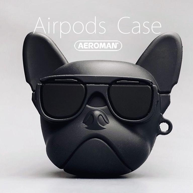 airpods 保護套 pro 法鬥 鬥牛犬 黑 紅 pitbill 科基 柴犬 貓 巴戈 八哥 沙皮狗 賴皮狗