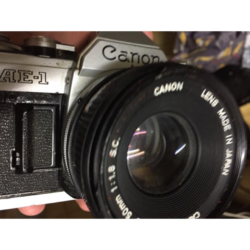底片 單眼相機 canon ae1 50mm f1.8 sc f4
