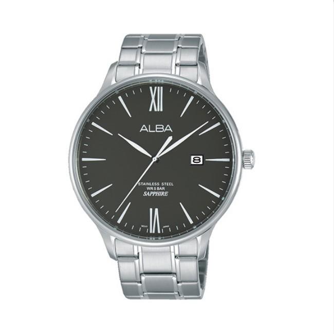 可議價 ALBA 雅柏 對錶系列 男款 水晶鏡面 石英腕錶(AS9E93X1) 43mm