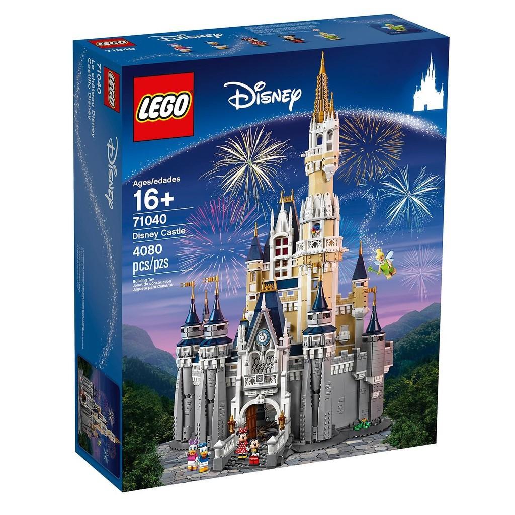 現貨!正版全新 LEGO 71040 迪士尼城堡 樂高 71040 Disney The Disney Castle