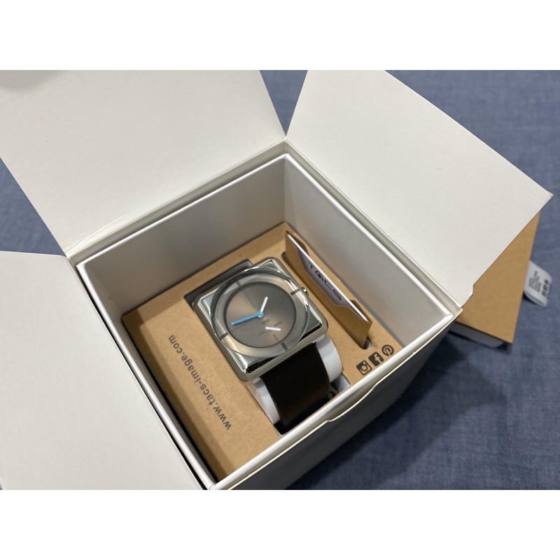 TACS | 日本 機芯 簡約 方形 線條 設計 手錶  指針 限量 石潤 SOAP AC