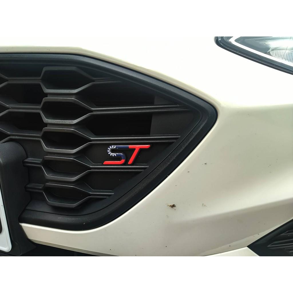 CYZONE Ford focus kuga fiesta ST LOGO 標誌 凝膠貼 台灣 國旗 式樣 福特 小