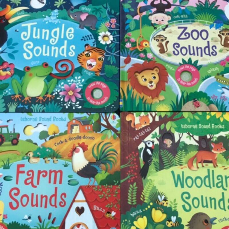 英國正版 現貨 [Usborne] Farm Sounds 音效書 有聲書