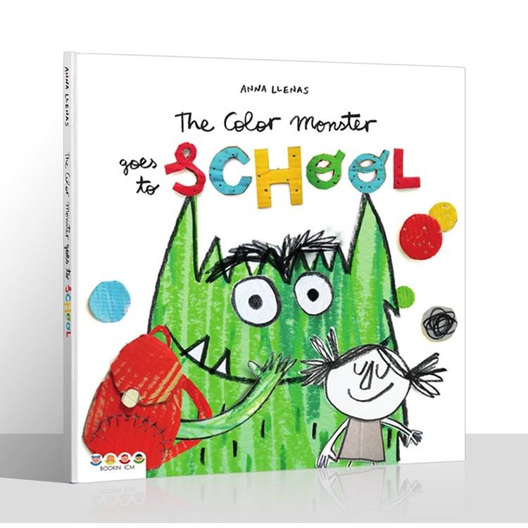 ⭐(正版點讀)The Color Monster Goes to School英語啟蒙親子互動閱讀繪本支持小達人點讀