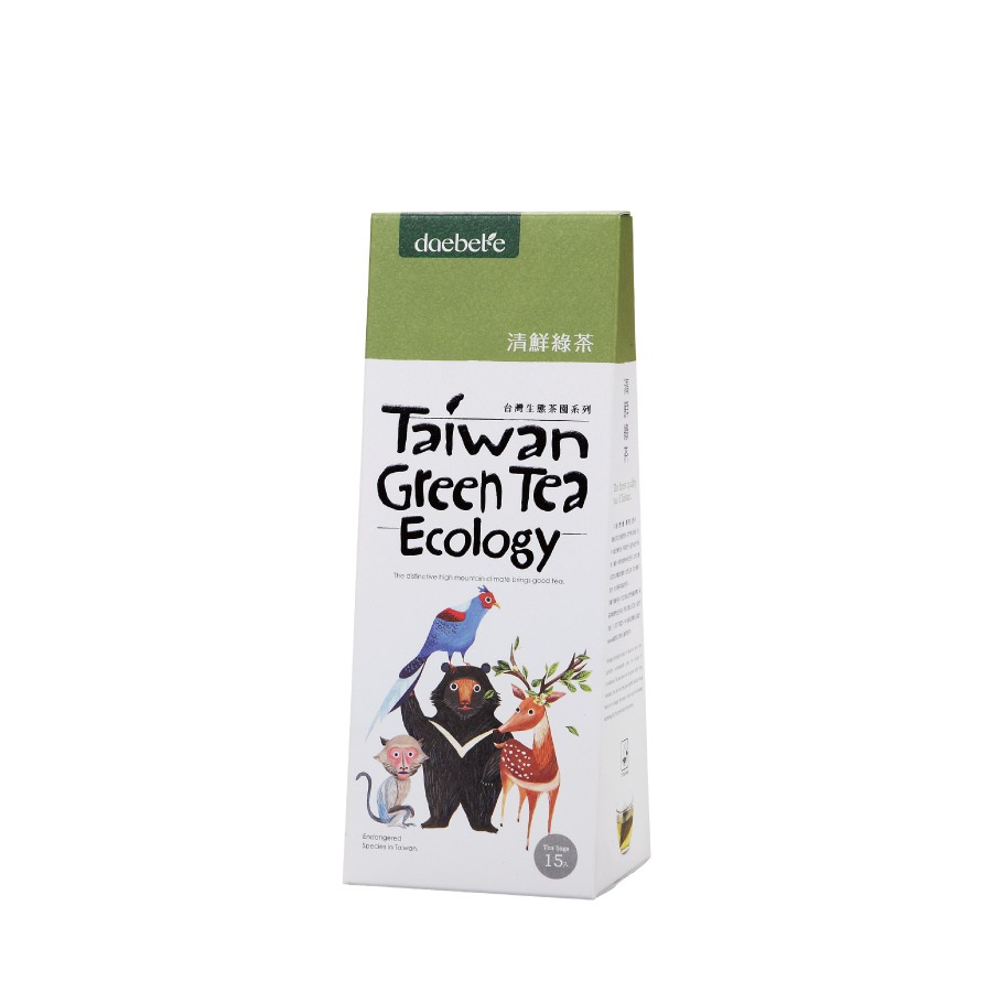 【daebeté】清鮮綠茶-自然生態系列(茶包/3g/15入)