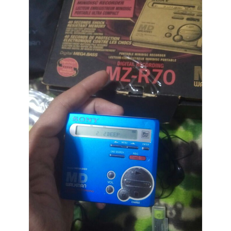 早期 SONY MZ-R70 MD播放器 隨身聽